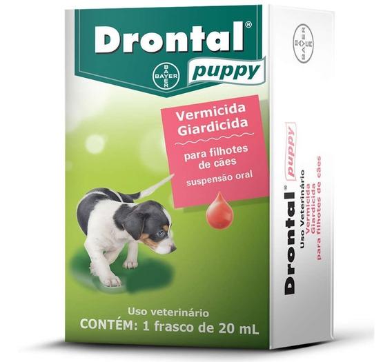 Vermífugo Drontal Puppy 20ml Para Cães Filhotes