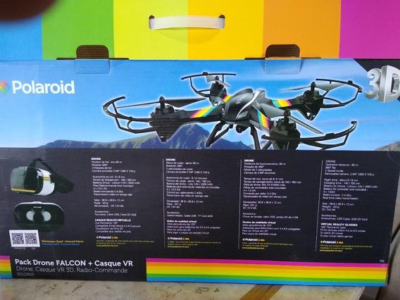 Drone Falcon Polaroid Com Óculos