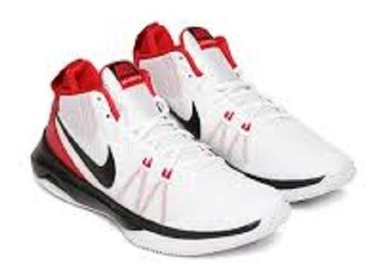 Oferta Tenis Nike Air Versatile Blanco-rojo 29.5 Y 30