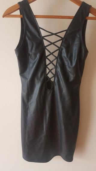Vestdo Mini Cuero Semi Acharolado Importado