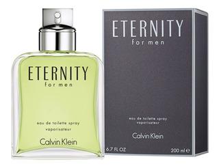 Eterrnity For Men De Ck 100% Original 200 Ml Envío Inmediato