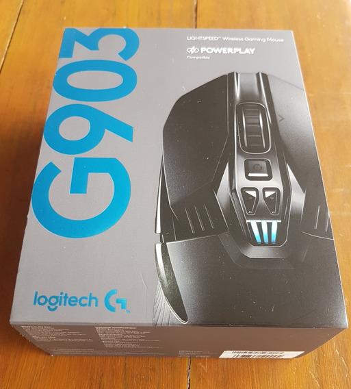 Mouse Logitech G903 Sem Fio, Recarregável. Estado Novo.