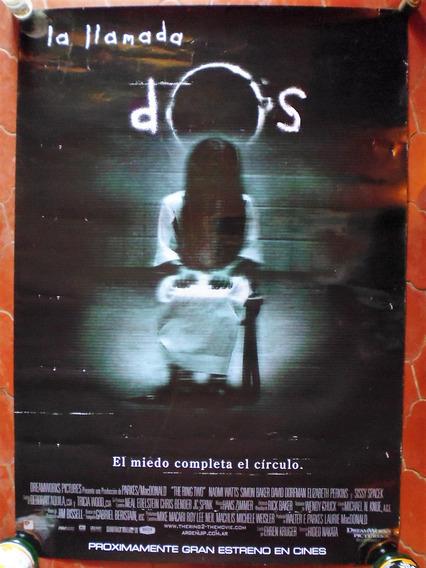 Poster Original Cine La Llamada 2 (2005) The Ring Two 100x70
