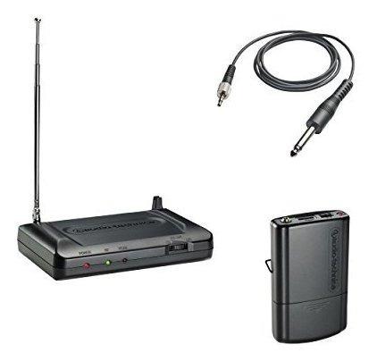 Audio-technica Atr7100g Vhf Inalambrico Sistema De Guitarra