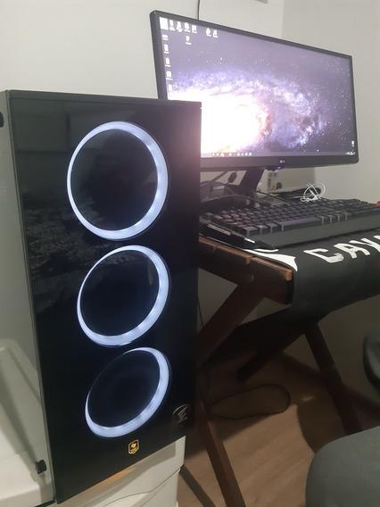 Computador Gamer Ryzen 7 / Rx 590/ 16gb / Monitor 25