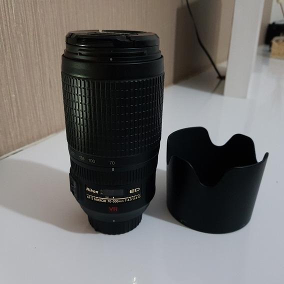 Lente Nikon Nikkor 70-300 F4.5-5.6 Vr