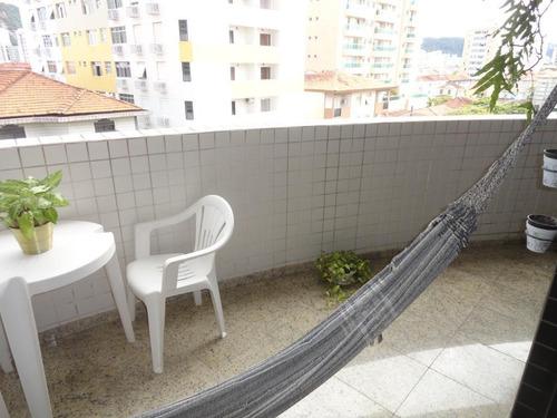 Apartamento Com 3 Dormitórios À Venda, 122 M² Por R$ 750.000,00 - Pompéia - Santos/sp - Ap1779