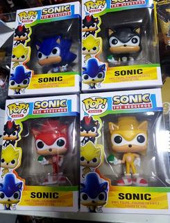 Muñeco Sonic Boom - Personajes En Caja Pop 8cm Vinil