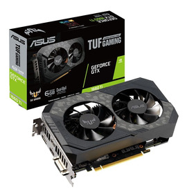Placa De Video Nvidia Geforce Asus Gtx 1660ti Oc 6gb -192 Bi