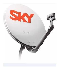 Antena Ku 60 Cm Com Lnb - Barato Kit 2 Antenas