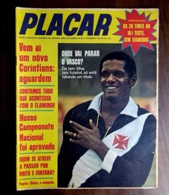 Revista Placar 26 -abril-1970-poster Oldair-atlético Mineiro