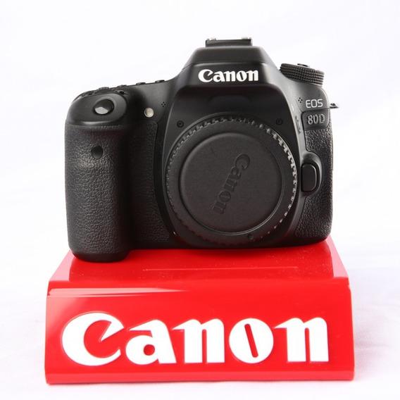 Câmera Dslr Canon 80d Corpo