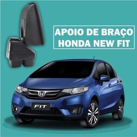 Acessório Apoio De Braço Honda New Fit Em Couro