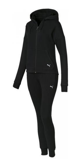 Agasalho Puma Clean Sweat Suit Feminino - Original