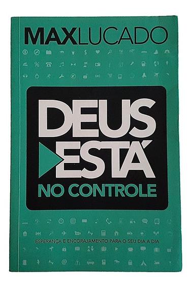 Livro Deus Está No Controle Max Lucado Religião 2014