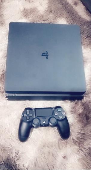 Playstation 4 Ps4 Slim+brinde 1 Jogo