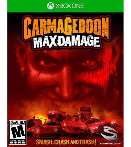 Carmageddon: Max Damage - Xbox One - Original - Nf