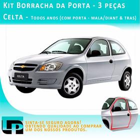 Kit Borracha Porta Chevrolet Celta - 2 Peças Todos Anos