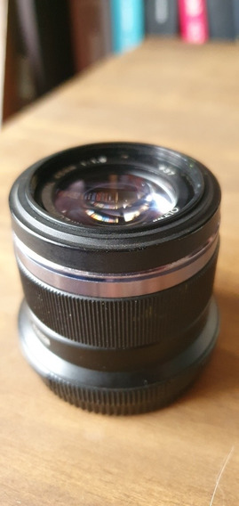 Lente Olympus M. Zuiko 45mm F/1.8 Para Câmeras Micro 4/3