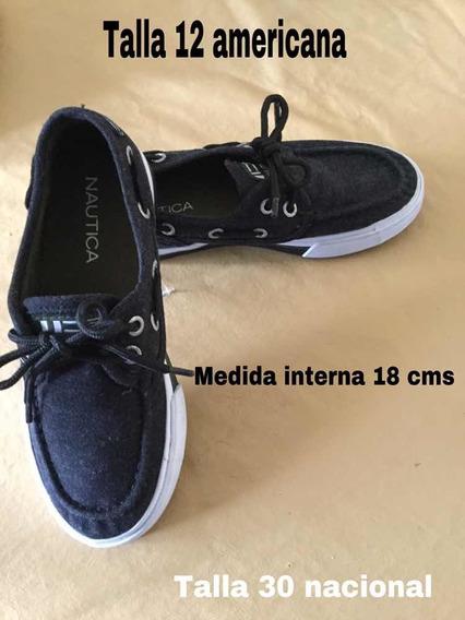 Zapatos Casuales Nautica Niños