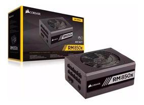 Fonte Corsair Rm850x Modular 80 Plus Gold 850w - Rm Series