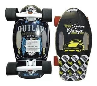 Patineta Para Niño Mini Longboard Blazer+regalo+envió