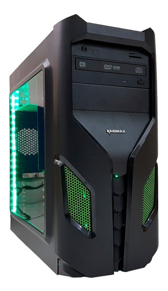 Cpu Gamer Intel/ Core I7/ 16gb/ 1tb/ Gtx1650/ Wifi/ Led Gab.