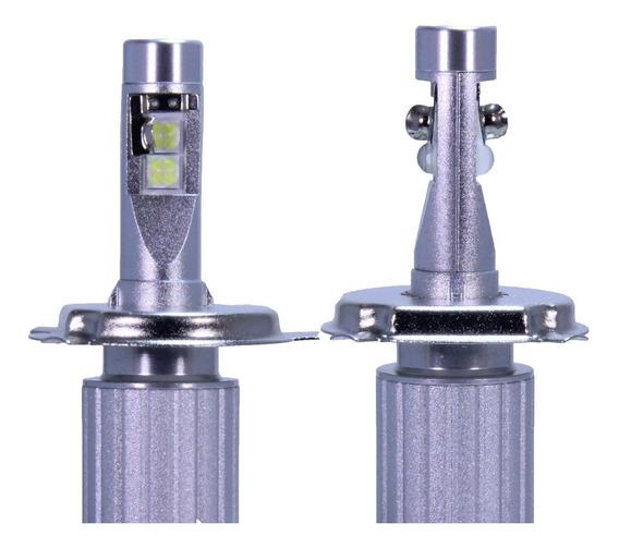 Par Lâmpada Farol 12.000 Lm Led Xhp50 H4 Hb3/4 H7 H11