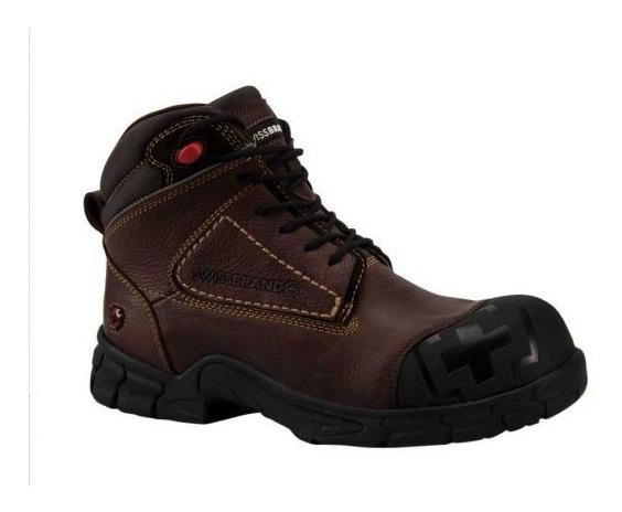 Bota Industrial Swiss Brand 0701 Id 169492 Negro Casquillo