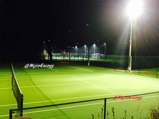 Proyector Led 240w 6500k Canchas Papi Tenis Hockey
