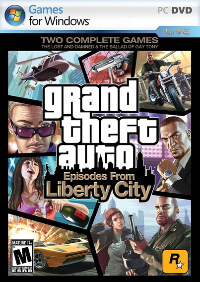 Gta Episodes From Liberty City Pc Original Ganhe Um Brinde