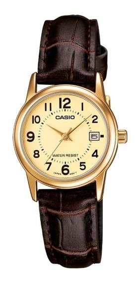 Relógio Analógico Feminino Casio Ltp-v002gl-9budf