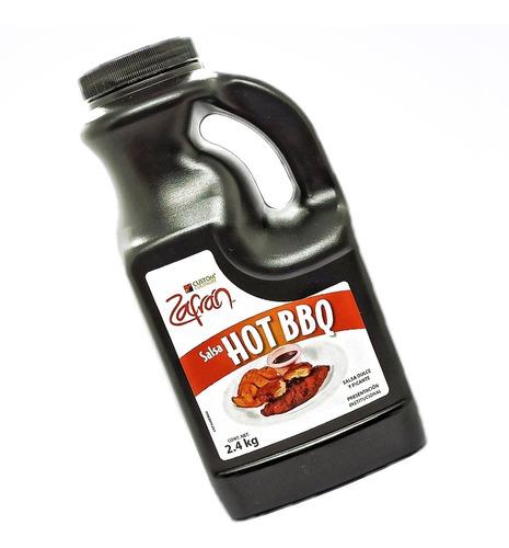 Salsa Hot Bbq Zafran De 2.4kilos