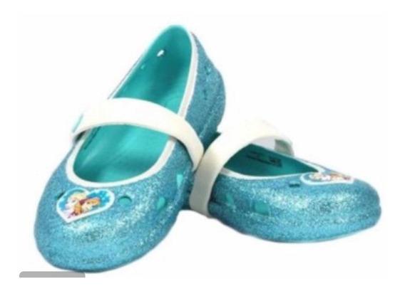 Crocs Disney Frozen Con Glitter Divinas ! Importadas N 22 C6