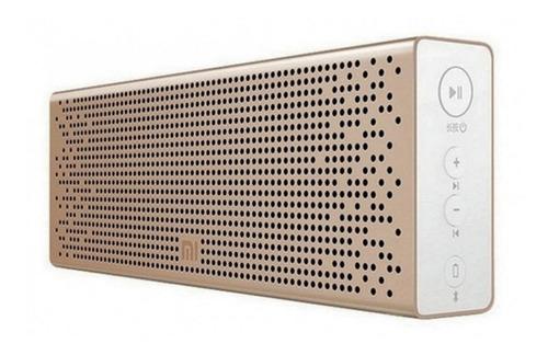 Caixa de som Xiaomi Mi Bluetooth Speaker portátil golden