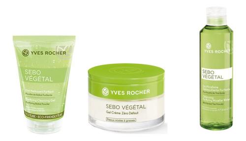 Yves Rocher Sebo Vegetal Anti Acne Gel Micelar Matificante Mercado Libre