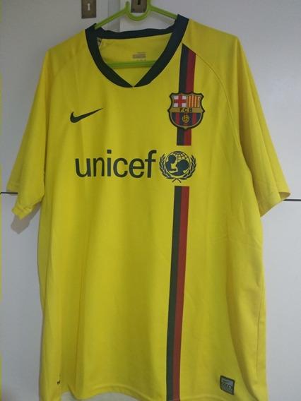 Camiseta De Barcelona 2008/09 Messi