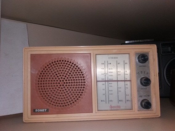 Radio Antigo Bege