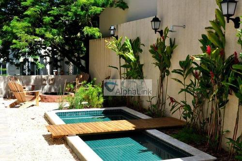 Casa Com 4 Dormitórios À Venda, 500 M² Por R$ 4.000.000,00 - Tamboré - Santana De Parnaíba/sp - Ca1016