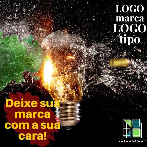 Criação Logomarca Logotipo Design Mídias Sociais Kit Marca