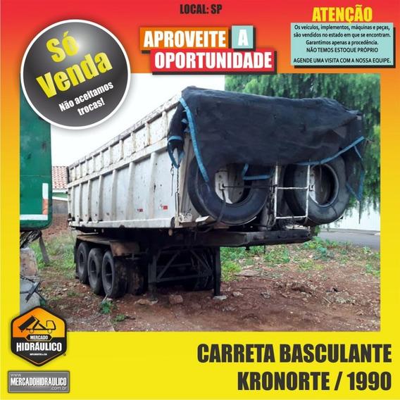 Carreta Basculante Kronorte / 1990