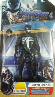 Muñeco Venom Avengers Articulado C/luz - Oferta - Y763