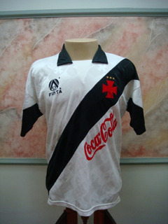Camisa Futebol Vasco Rio Janeiro Finta Jogo Antiga 1848