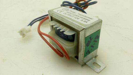 Mini Transformador Cqc 220v 50/60 Hz 0,3 A