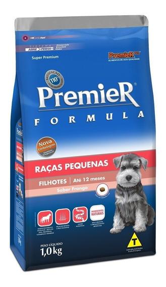 Ração Premier Para Cães Filhotes Raças Pequenas Frango 20kg