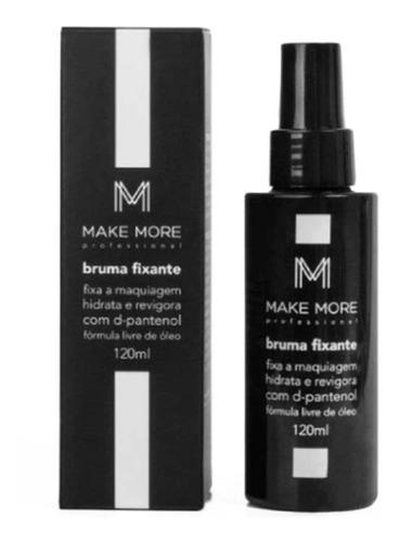 Imagem 1 de 4 de Bruma Fixante Make More Fix Maquiagem Hidrata Revigora Full