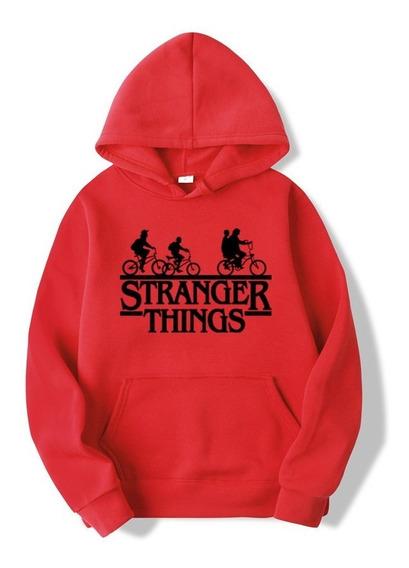 Stranger Things Buzos Canguro Unisex Upsidedown