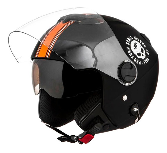 Capacete New Atomic Skull Riders - Pro Tork