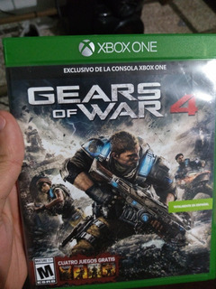Gears Of War 4 Para Xbox One Disco Físico Envio Gratis