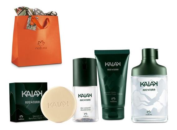 Kit Kaiak Aventura Masc Natura - Edição Especial
